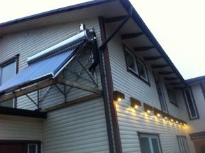 Slėginis saulės šildytuvas SS24+