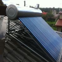 Slėginis saulės šildytuvas