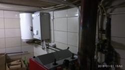 Šilumos siurblys oras vanduo CH HM  prijungtas prie senos sistemos
