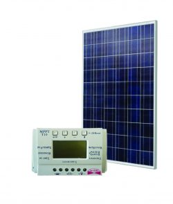 Saulės modulis 250 W + MPPT valdiklis 20 A