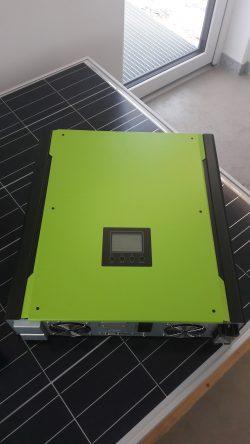 Hibridinė saulės elektrinė 3 kW
