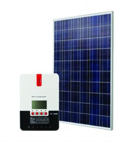 Saulės modulis 260 W + MPPT kroviklis