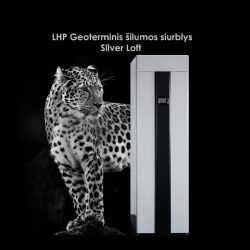 LHP geoterminis šilumos siurblys Silver Loft
