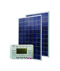 Saulės modulis 260 W + MPPT valdiklis 20 A