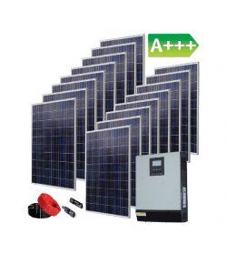 4,16 kW saulės elektrinės komplektas