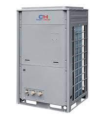 Šilumos siurblys oras/vanduo 30 kW ir akumuliacinė talpa