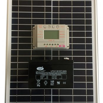 Saulės kroviklis 20 W galios + akumuliatorius