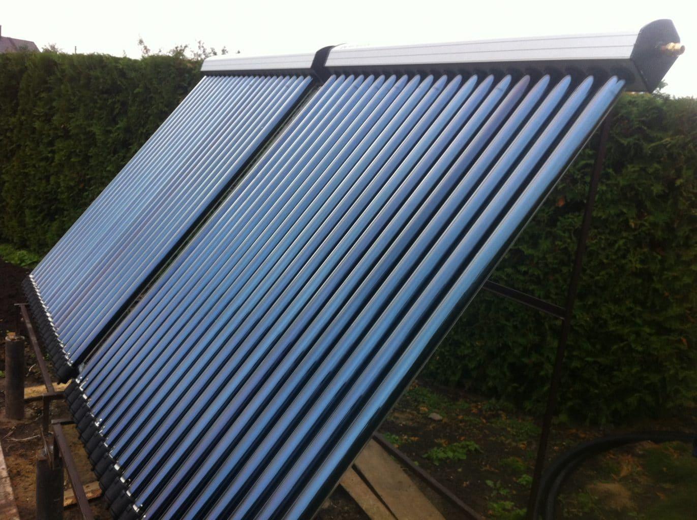Švari energija saulės kolektoria