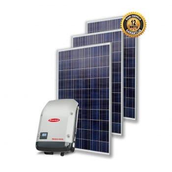 Saulės elektrinė 3 - 10 kW