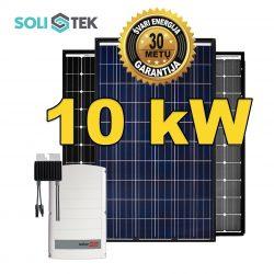 10 kW PREMIUM30 saulės elektrinė su optimizatoriais
