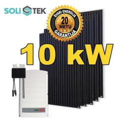10 kW saulės elektrinė su optimizatoriais